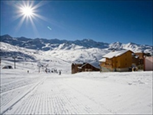 photo piste val thorens